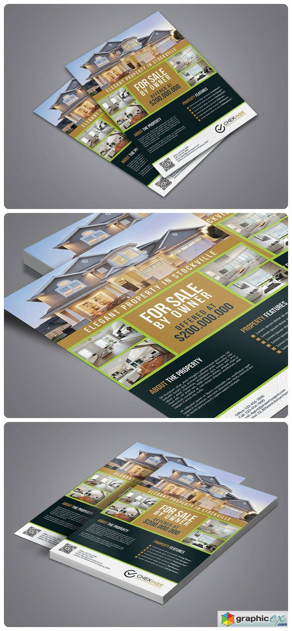 Real Estate Flyer 626144