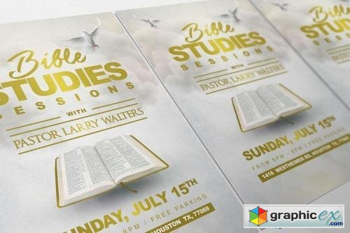 88 Bible Study Flyer Template Free Bible Way Fellowship Church