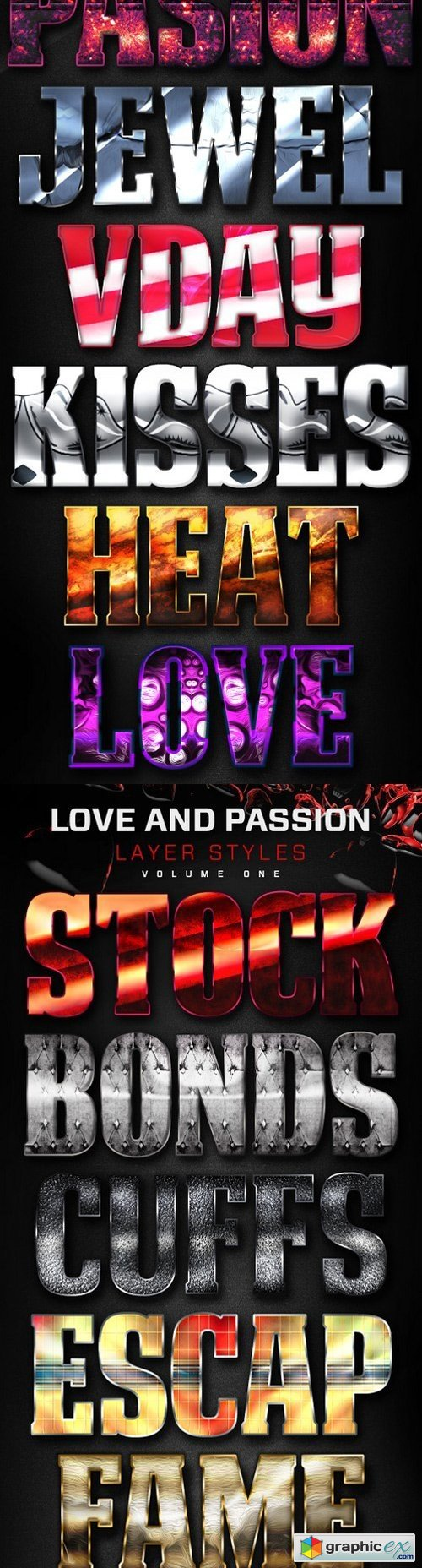 Love And Passion Styles Bundle 1