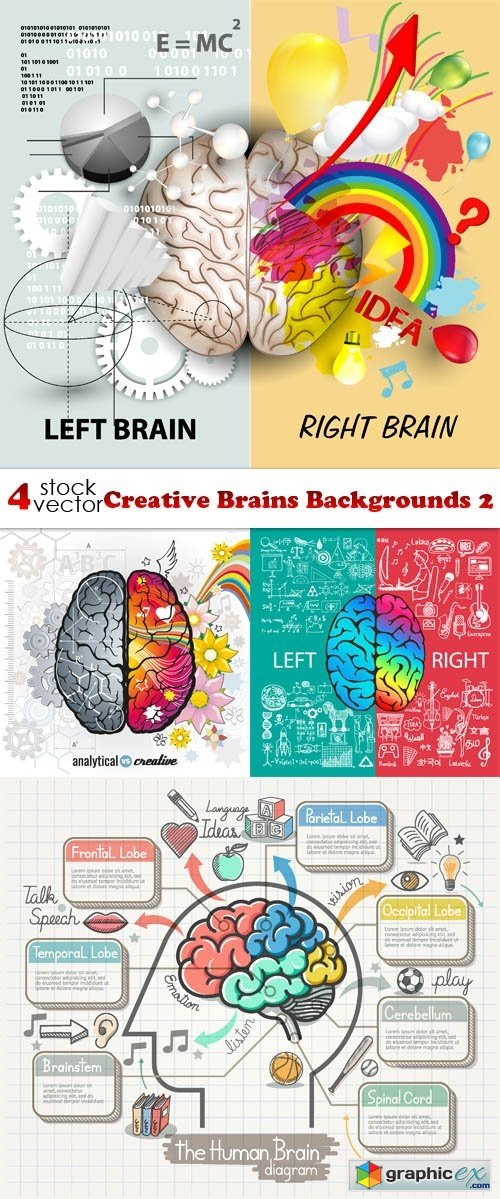 Creative Brains Backgrounds 2