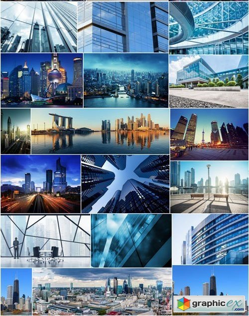 Modern Architecture and Cities - 25xUHQ JPEG