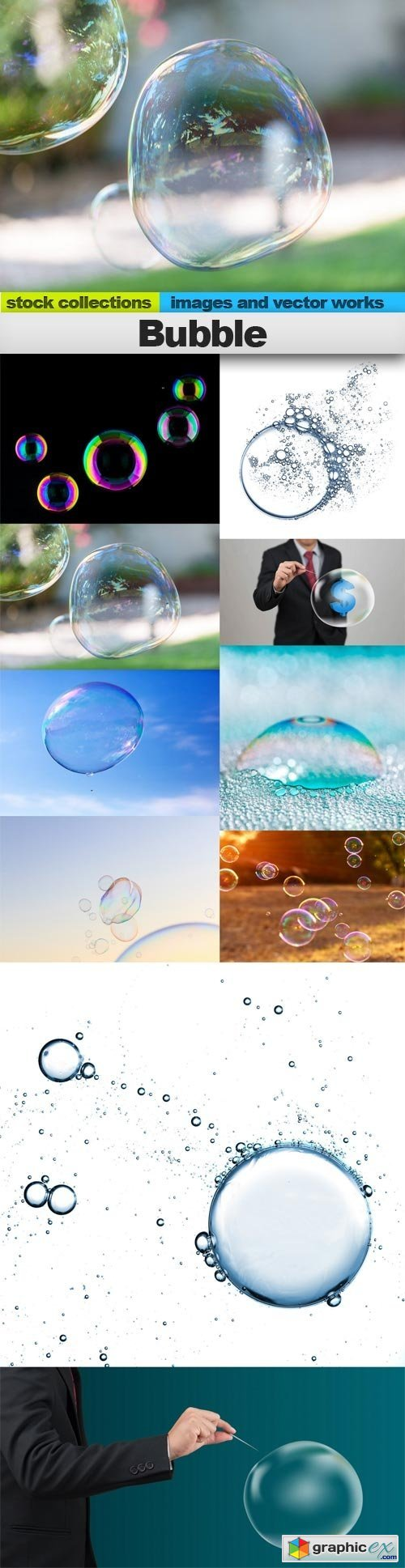 Bubble, 10 x UHQ JPEG