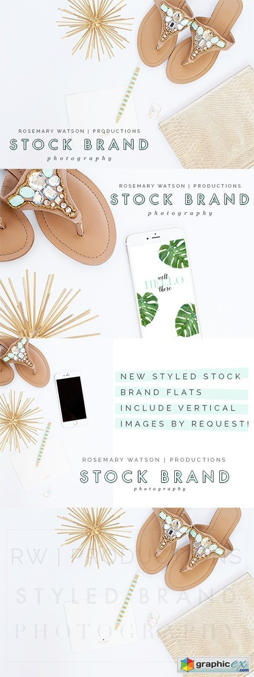Piper Styled Stock Brand Flat Set