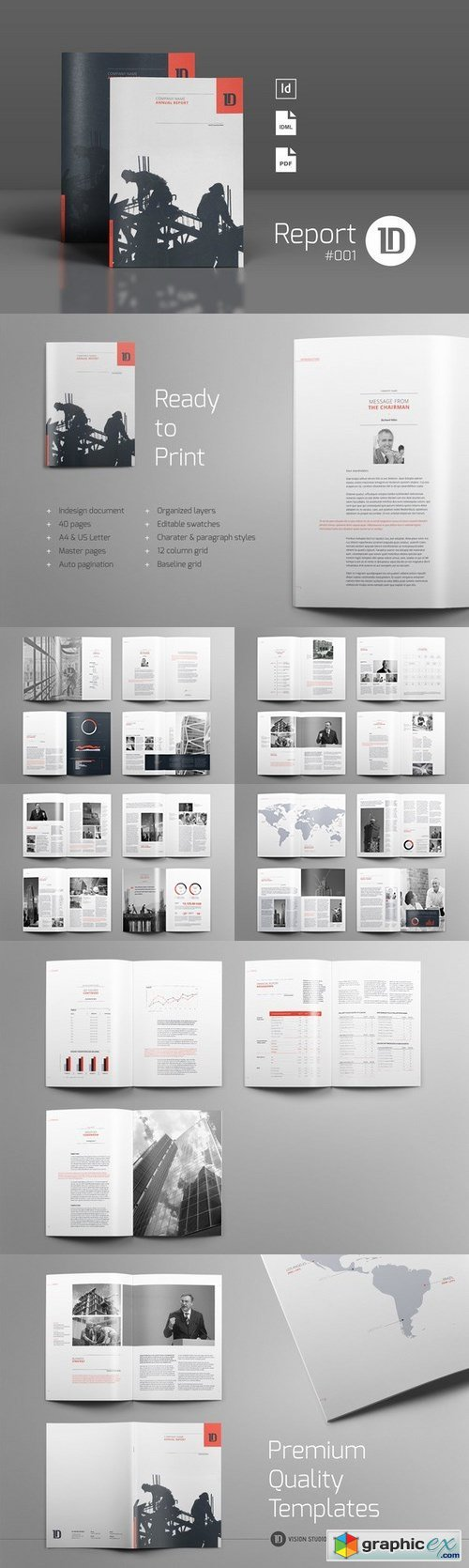 Annual Report Template 001