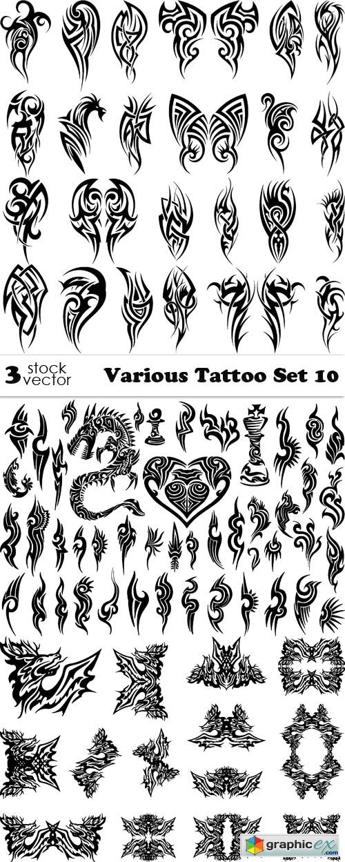 Various Tattoo Set 10
