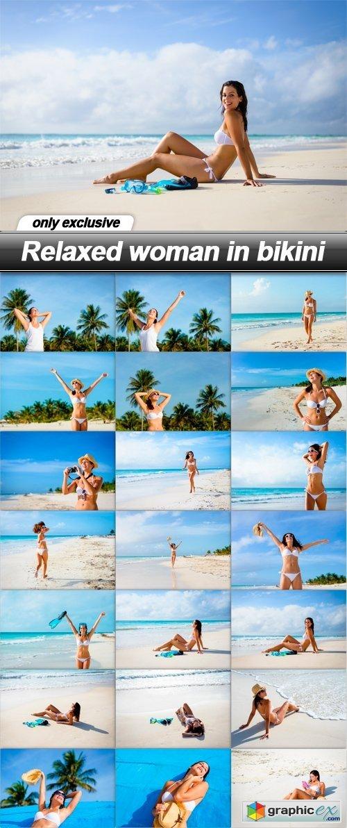 Relaxed woman in bikini - 21 UHQ JPEG