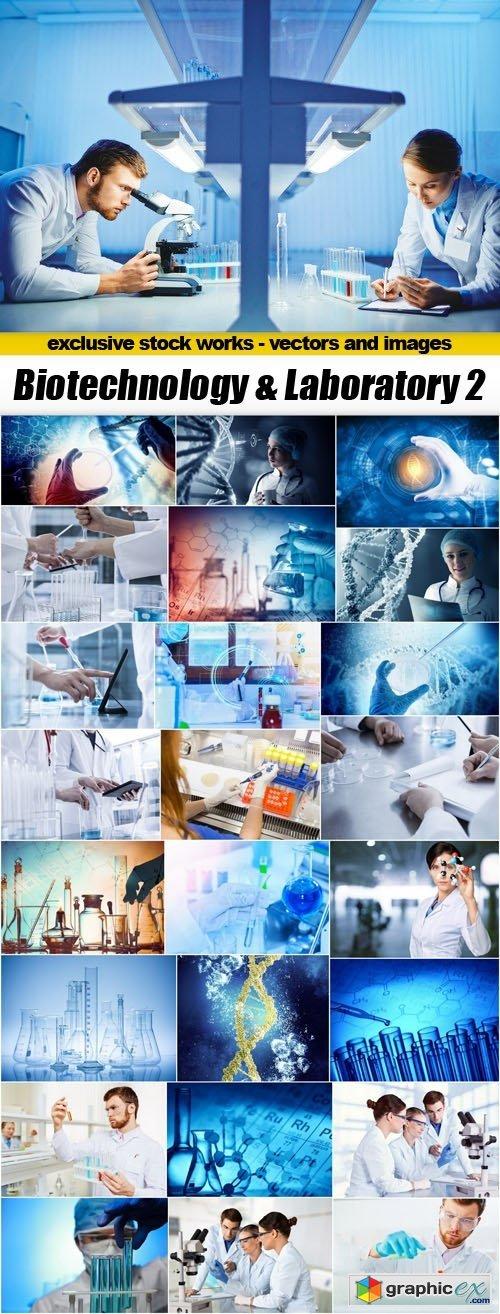Biotechnology & Laboratory 2 - 25xUHQ JPEG