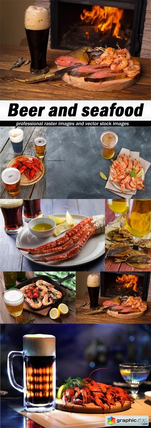 Beer and seafood-7xJPEGs