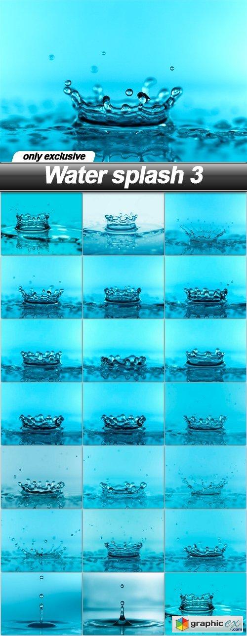 Water splash 3 - 20 UHQ JPEG