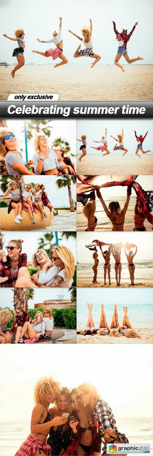 Celebrating summer time - 9 UHQ JPEG
