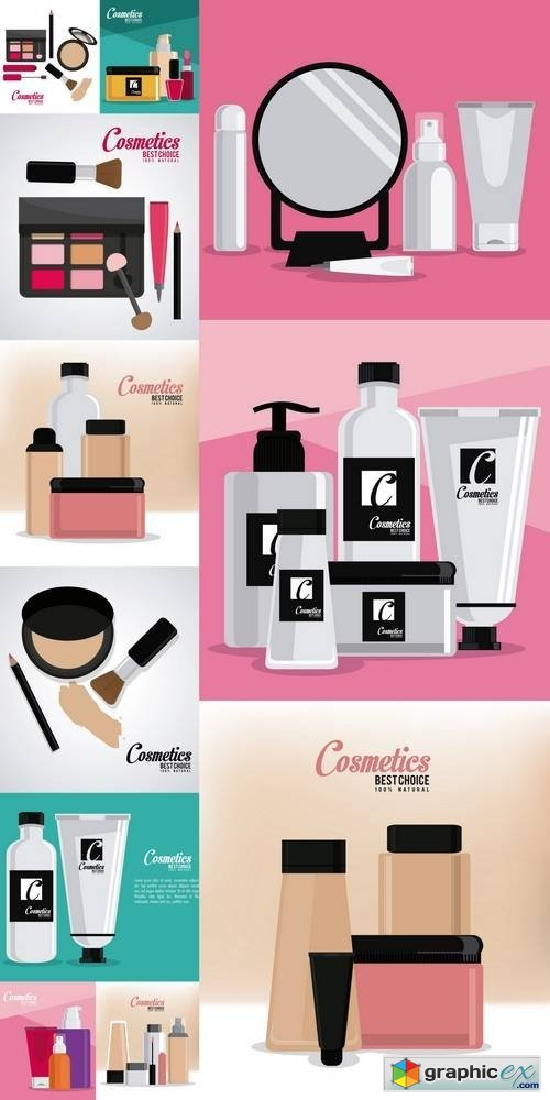 Cosmetic Design - Make Up Icon
