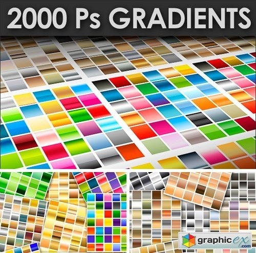 2000+ Photoshop Gradients