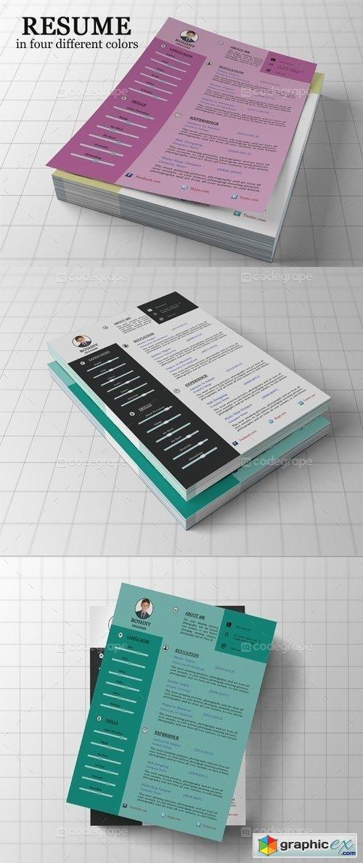 creative resume template 5275  u00bb free download vector stock