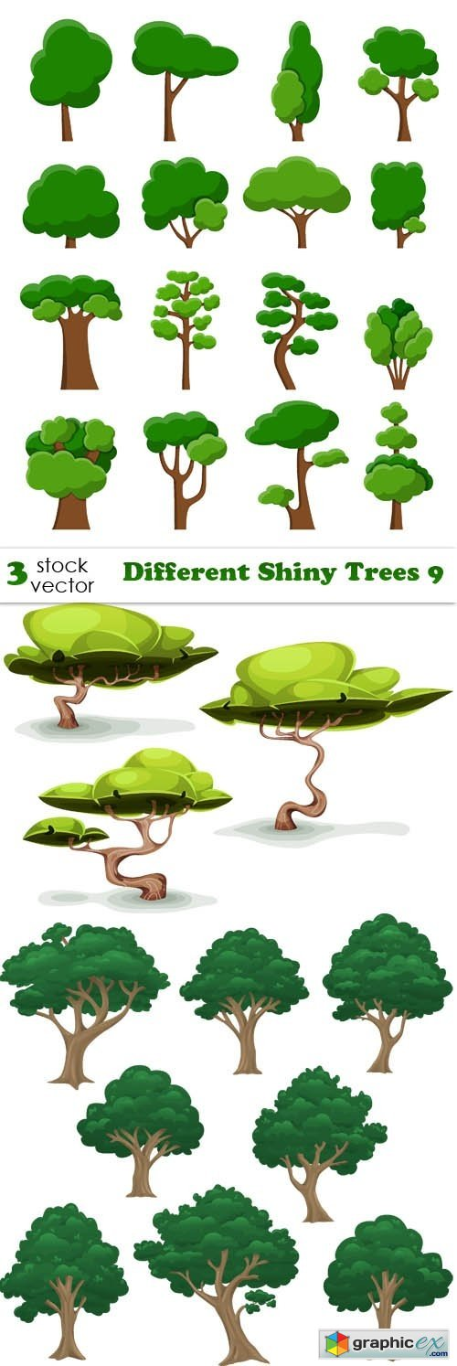 Different Shiny Trees 9