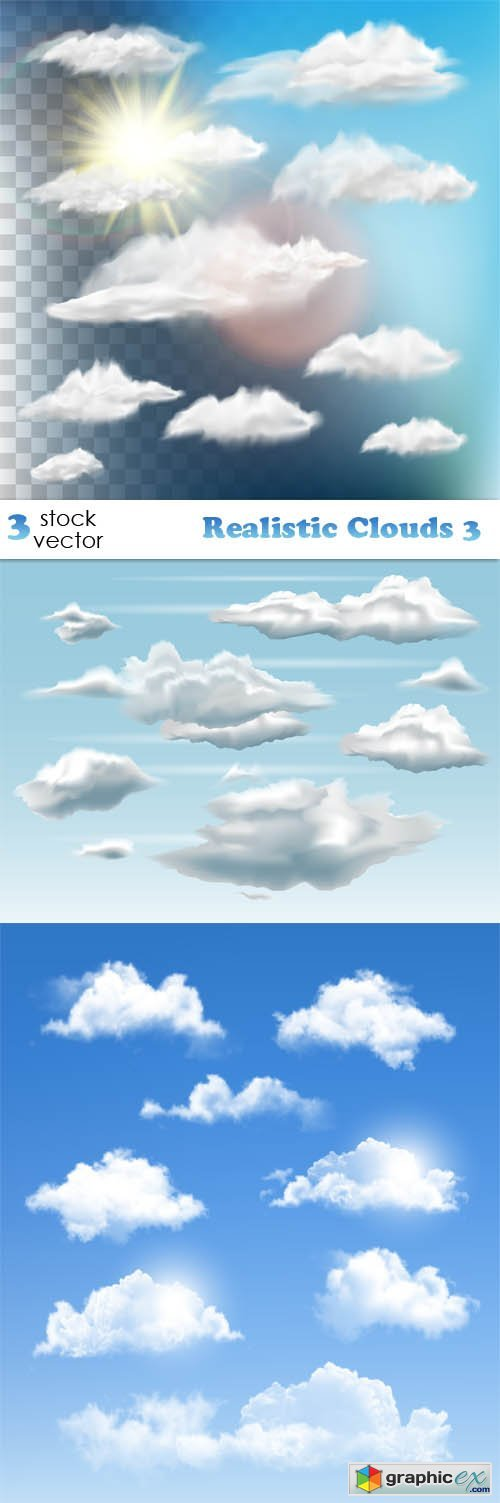 Realistic Clouds 3