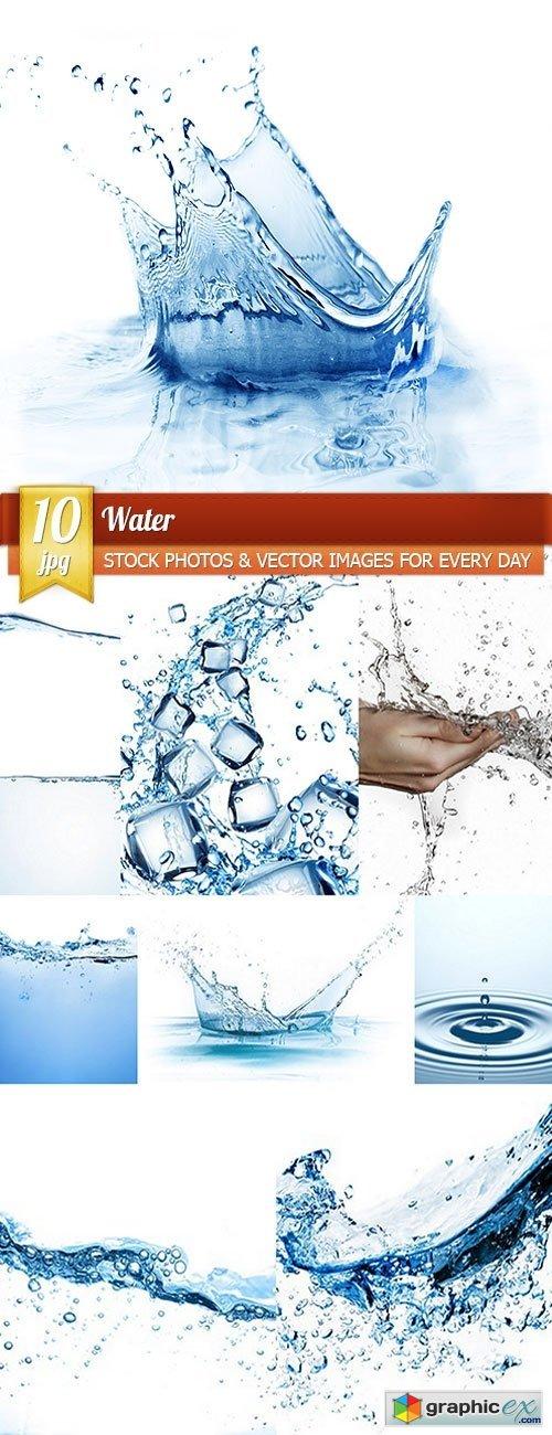 Water, 10 x UHQ JPEG