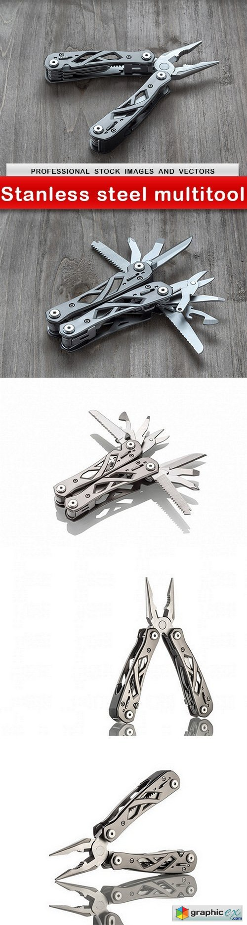 Stanless steel multitool - 5 UHQ JPEG