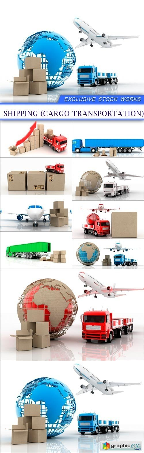 Shipping (cargo transportation) 10X JPEG