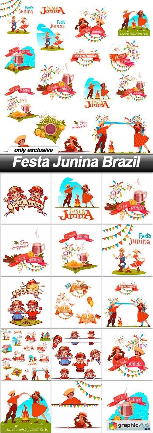 Festa Junina Brazil - 15 EPS