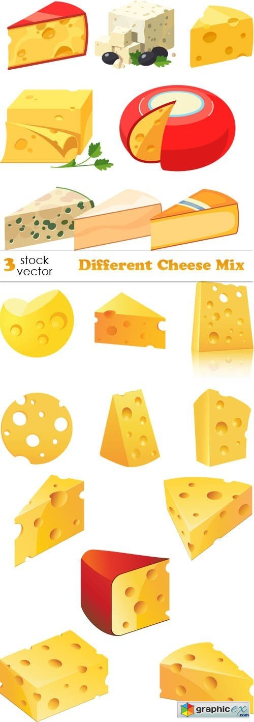 Different Cheese Mix
