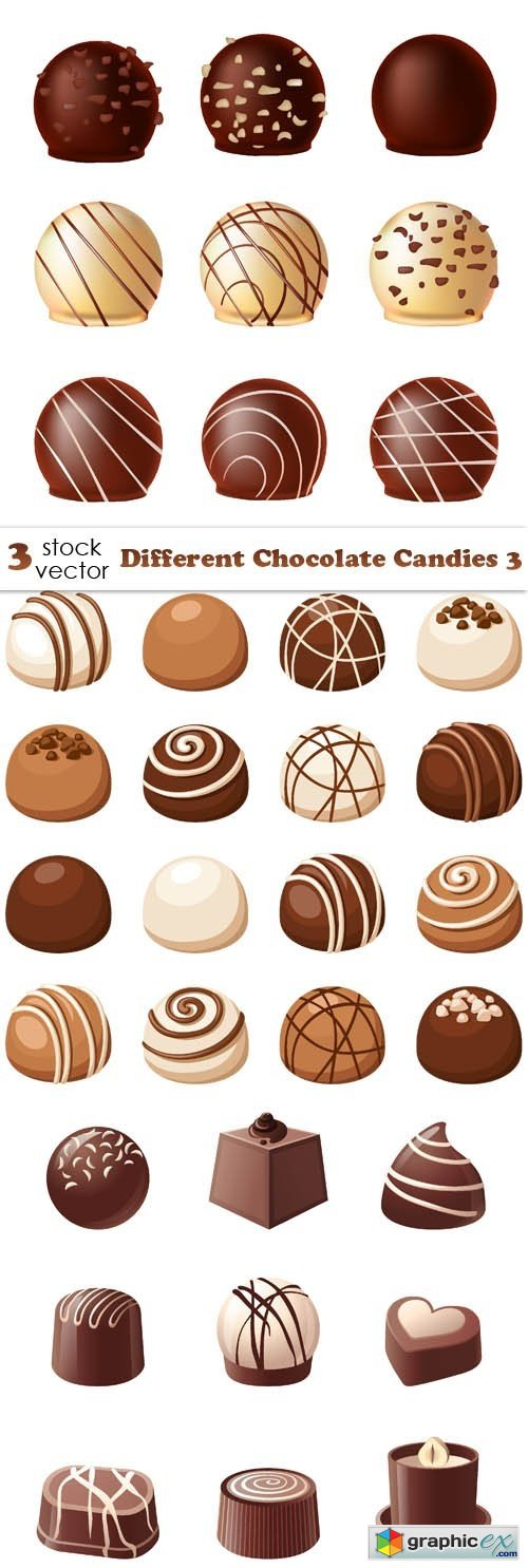 Different Chocolate Candies 3