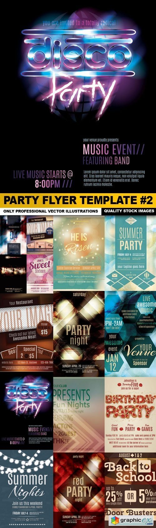 Party Flyer Template #2