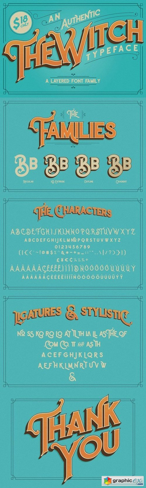 The Witch Typeface