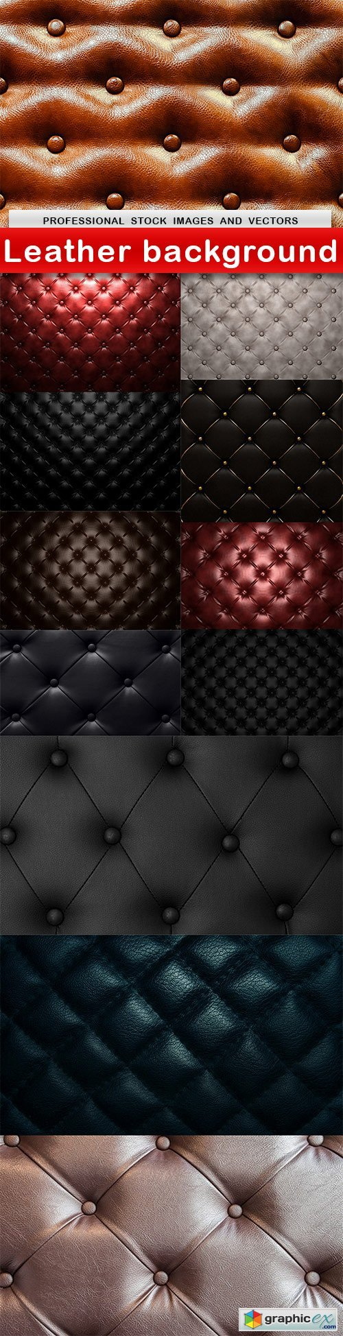 Leather background - 12 UHQ JPEG