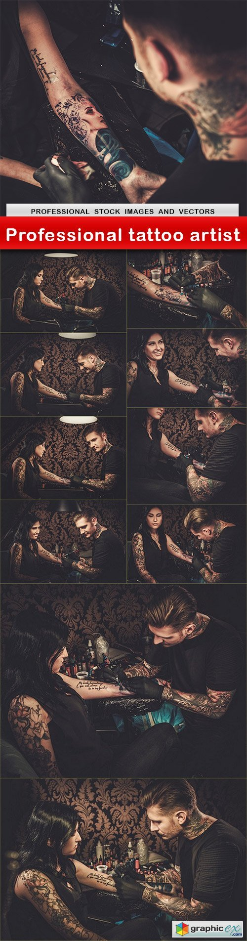 Professional tattoo artist - 11 UHQ JPEG
