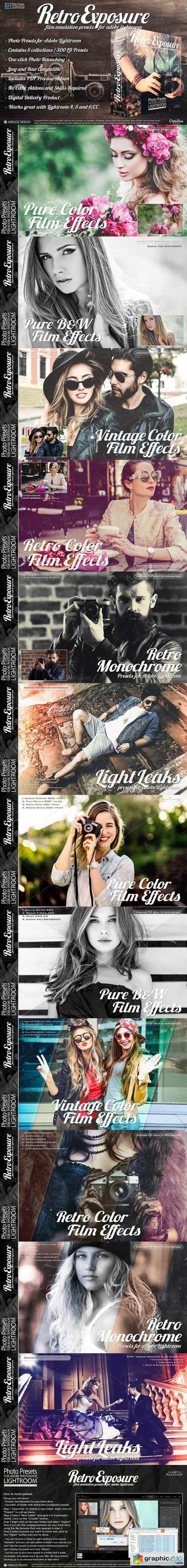 Presets for Lightroom Retro Exposure 735149