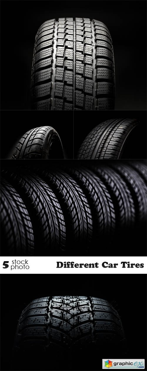 Different Car Tires