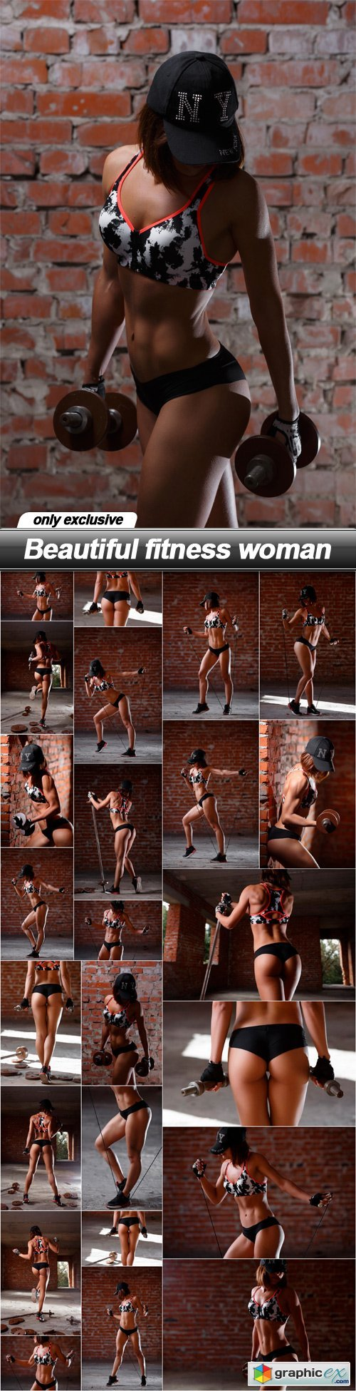 Beautiful fitness woman - 24 UHQ JPEG
