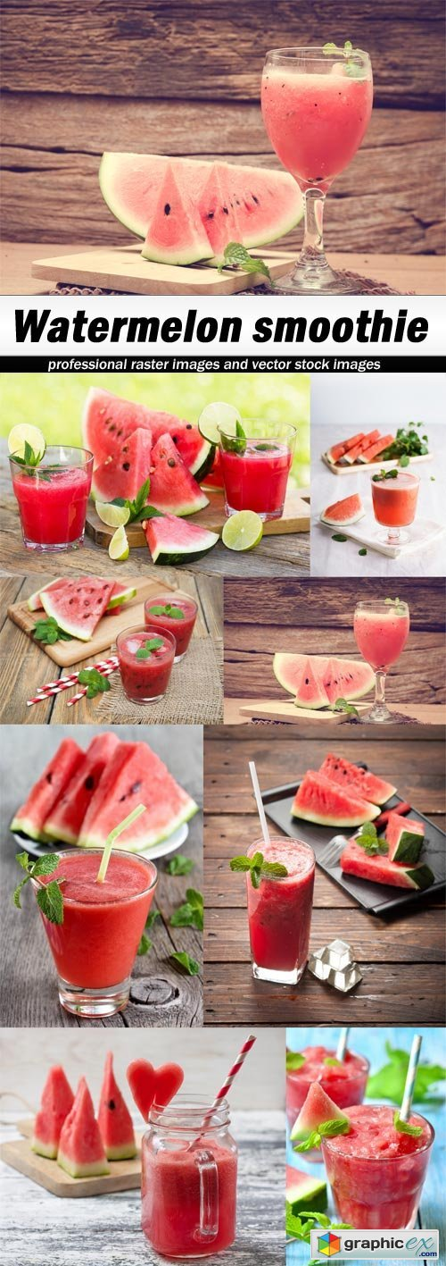 Watermelon smoothie-8xUHQ JPEG
