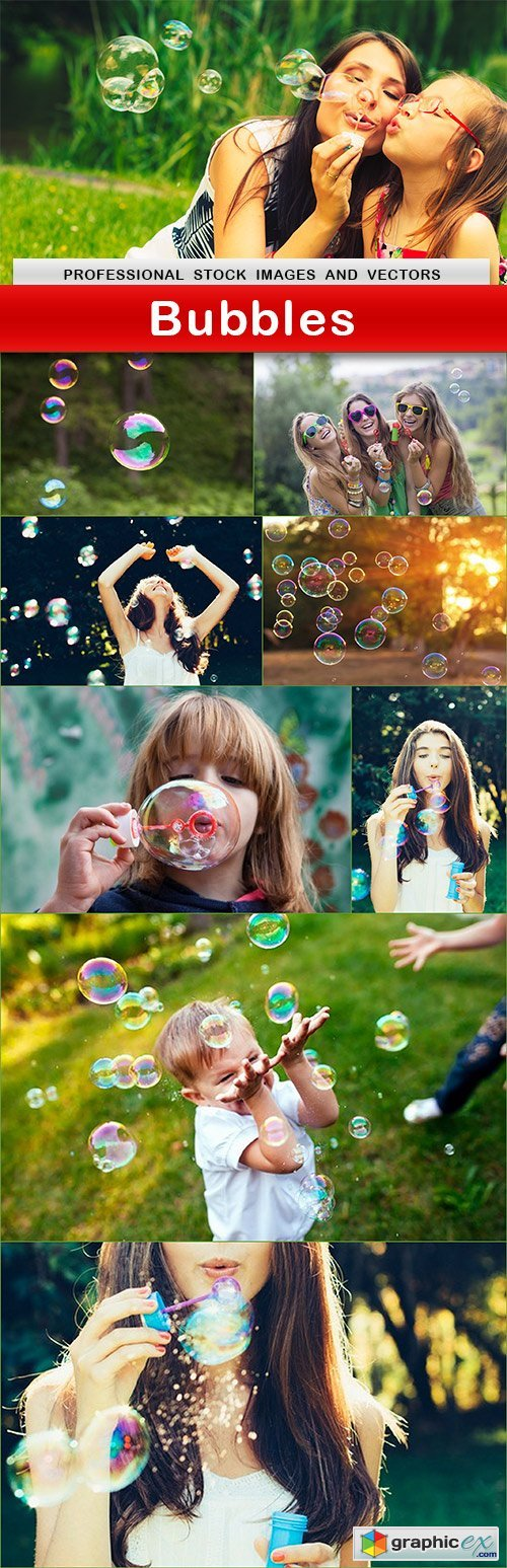 Bubbles - 9 UHQ JPEG