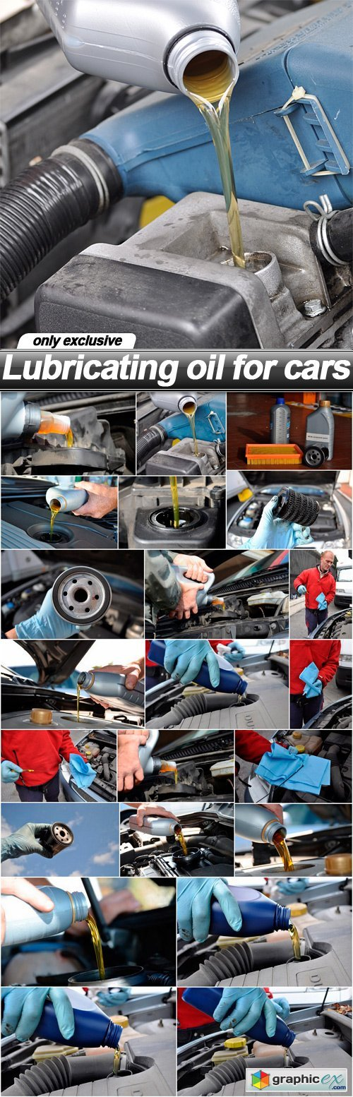 Lubricating oil for cars - 22 UHQ JPEG
