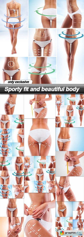 Sporty fit and beautiful body - 20 UHQ JPEG