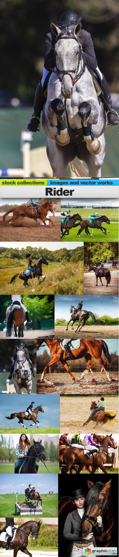 Rider, 15 x UHQ JPEG