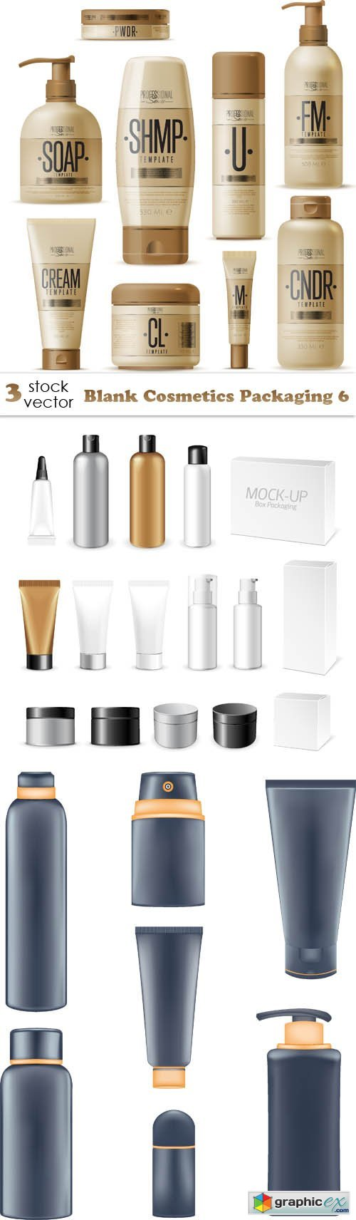 Blank Cosmetics Packaging 6