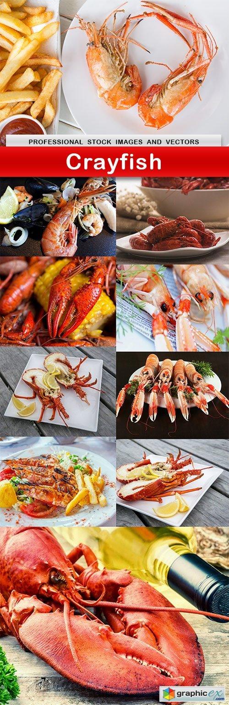Crayfish - 10 UHQ JPEG
