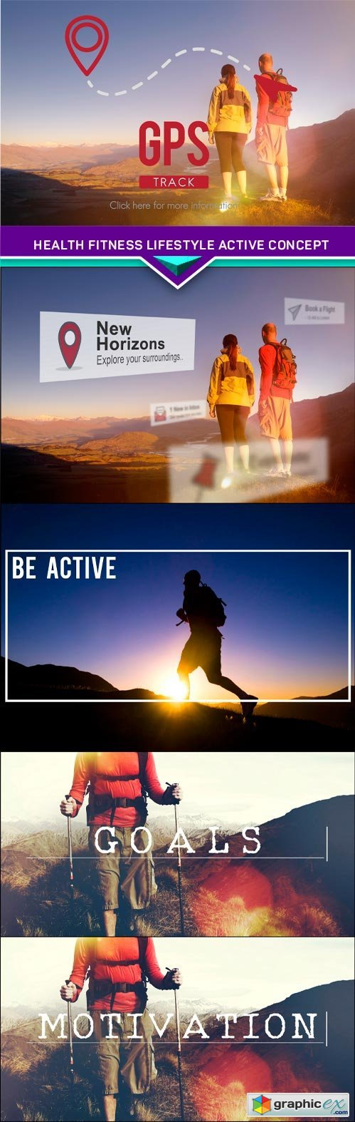 Health Fitness Lifestyle Active Concept 5x JPEG