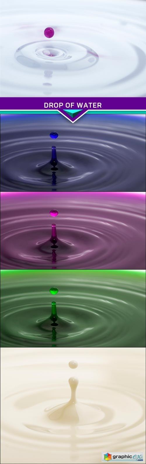 Drop of water 5x JPEG