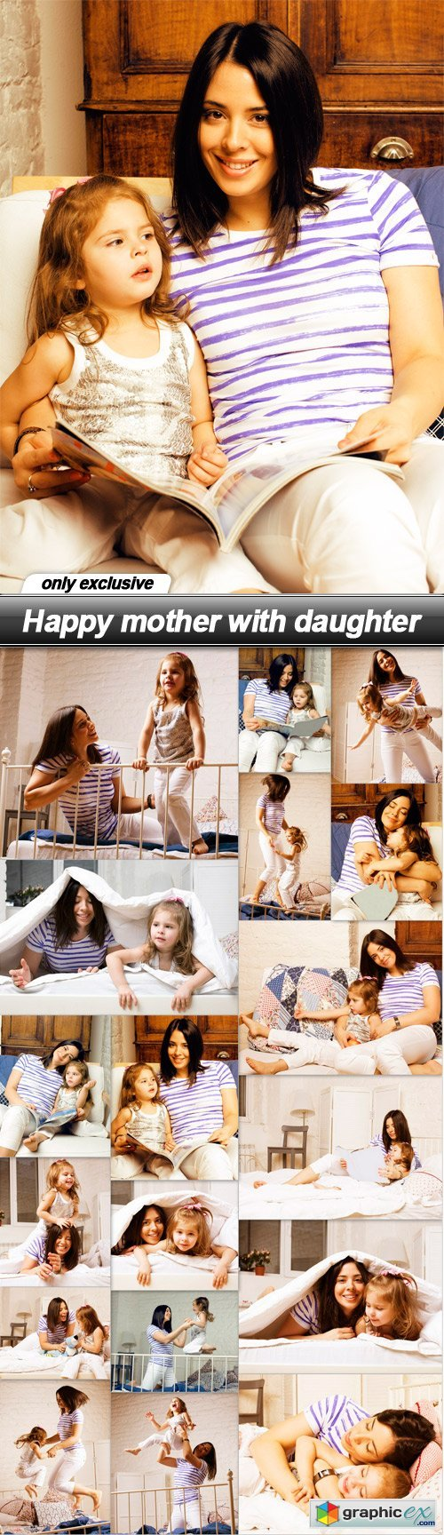 Happy mother with daughter - 18 UHQ JPEG