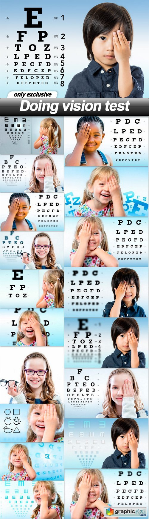 Doing vision test - 19 UHQ JPEG