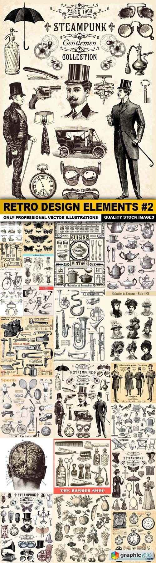 Retro Design Elements #2