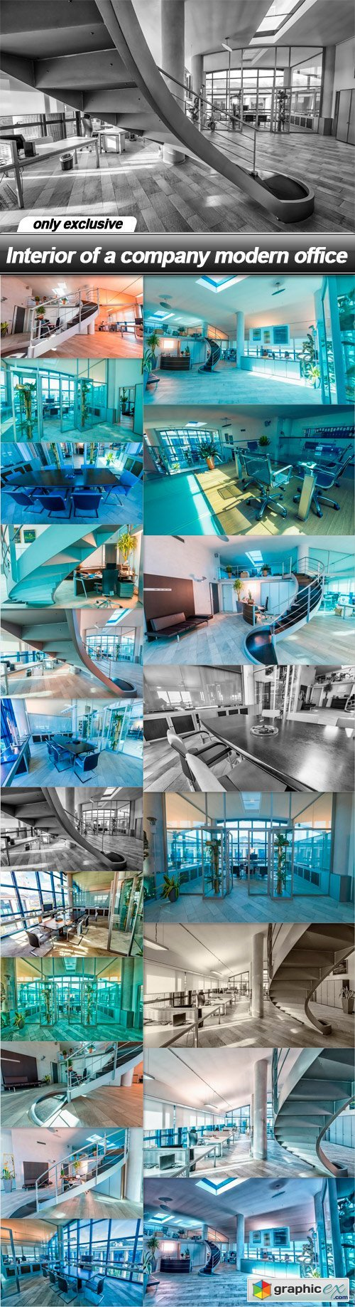 Interior of a company modern office - 20 UHQ JPEG