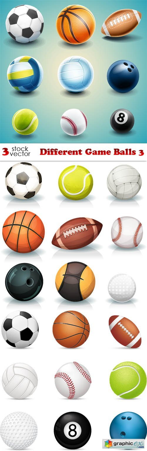 Different Game Balls 3