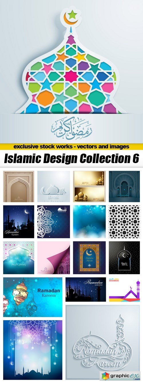Islamic Design Collection 6 - 18xEPS
