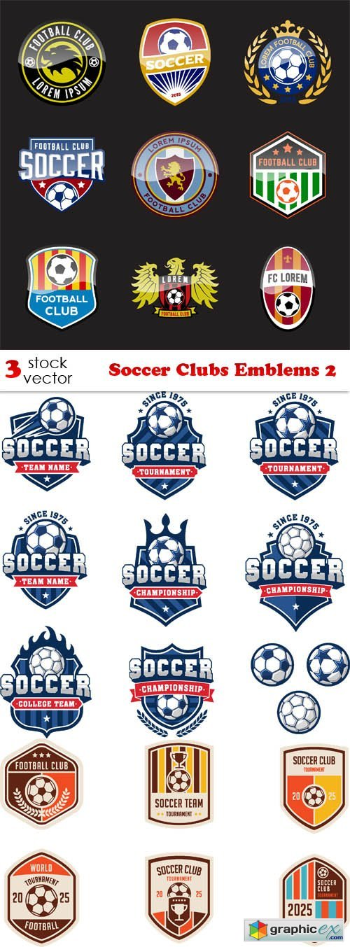 Soccer Clubs Emblems 2