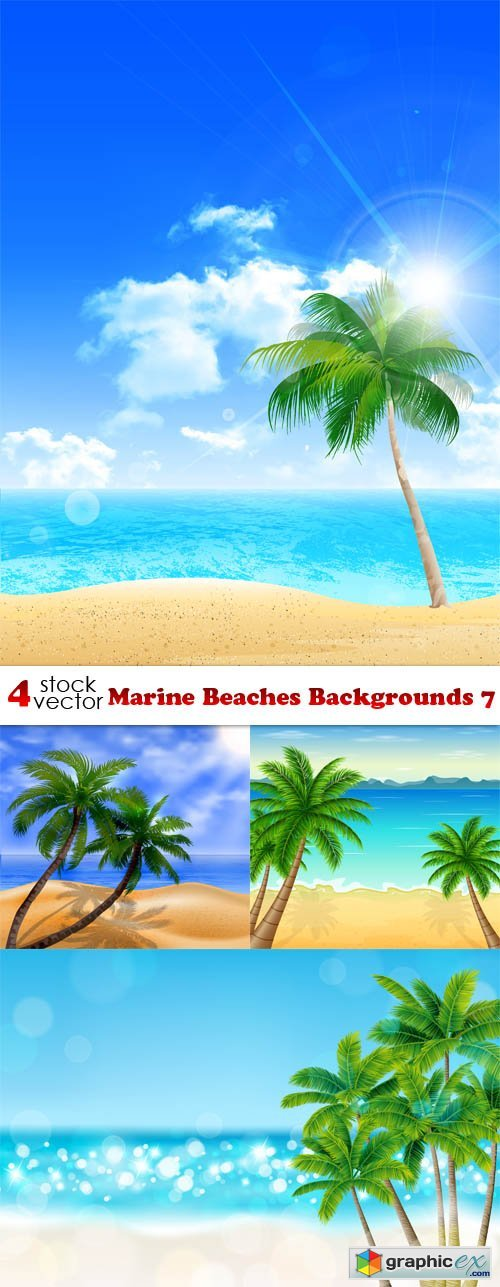 Marine Beaches Backgrounds 7