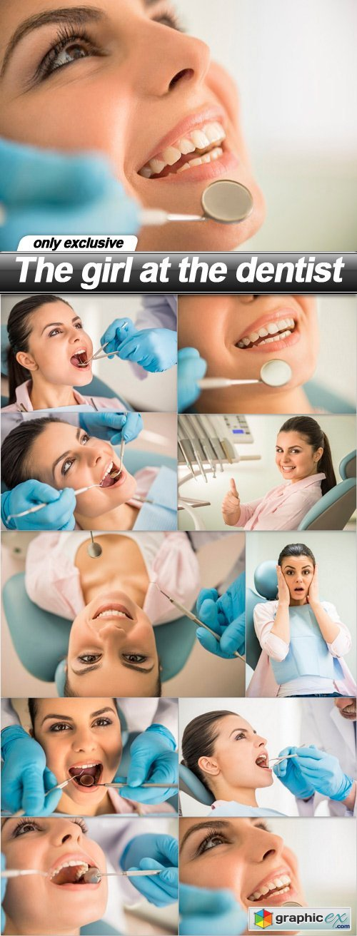 The girl at the dentist 3 - 10 UHQ JPEG
